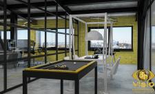3D визуализация игровой комнаты